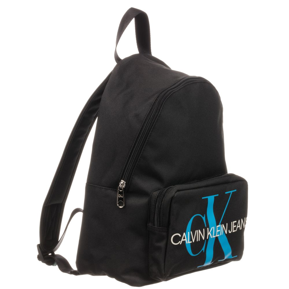 Black Logo Backpack (34cm).