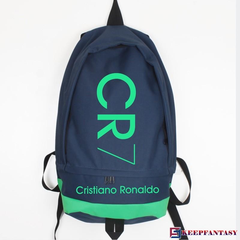 Cristiano Ronaldo CR7 Logo School Bag Backpacks.