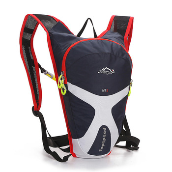 Latest Trendy Travelling Backpacks With Custom Logo Brand Bag Reflective  Water Bag Backpack Hydration With 2 Side Pockets.