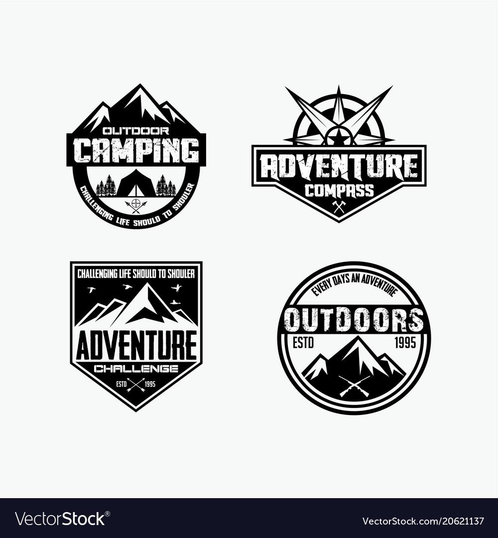 Adventure logo badges 1.