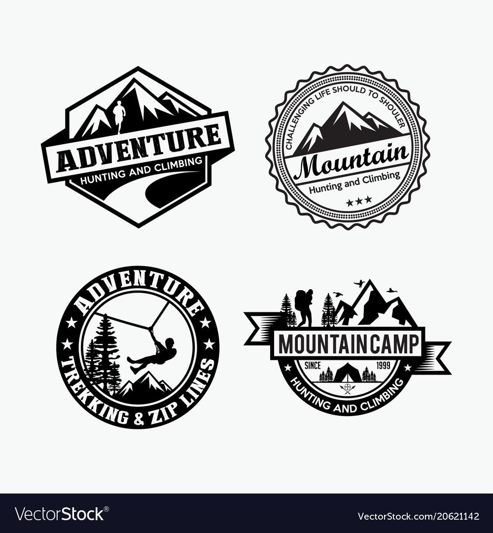 Adventure logo badges 4.