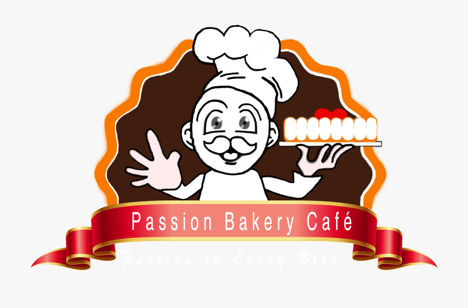 Logo Bakery & Cafe , Png Download.