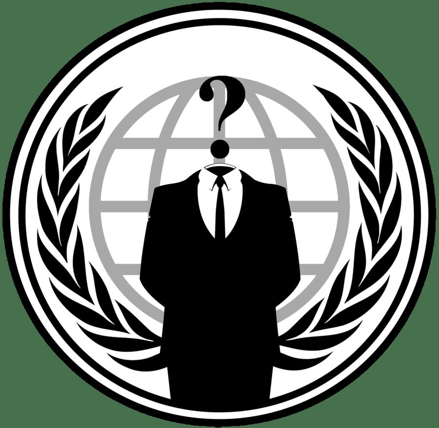 Anonymous Logo transparent PNG.