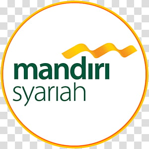 Circle Logo, Bank Syariah Mandiri, Bank Mandiri, Line, Text.