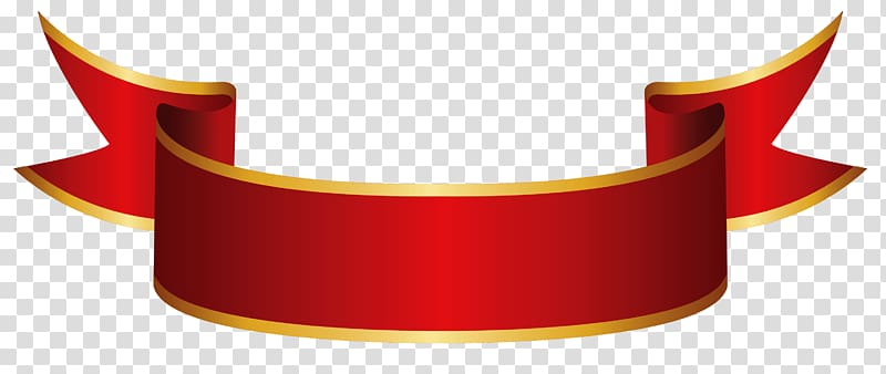 Banner Ribbon Paper , Red Banner , red and orange ribbon.