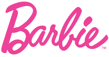 Barbie Logo transparent PNG.