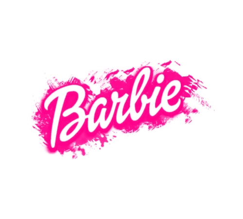 Barbie Logo (keep the font but use my daughters name to.