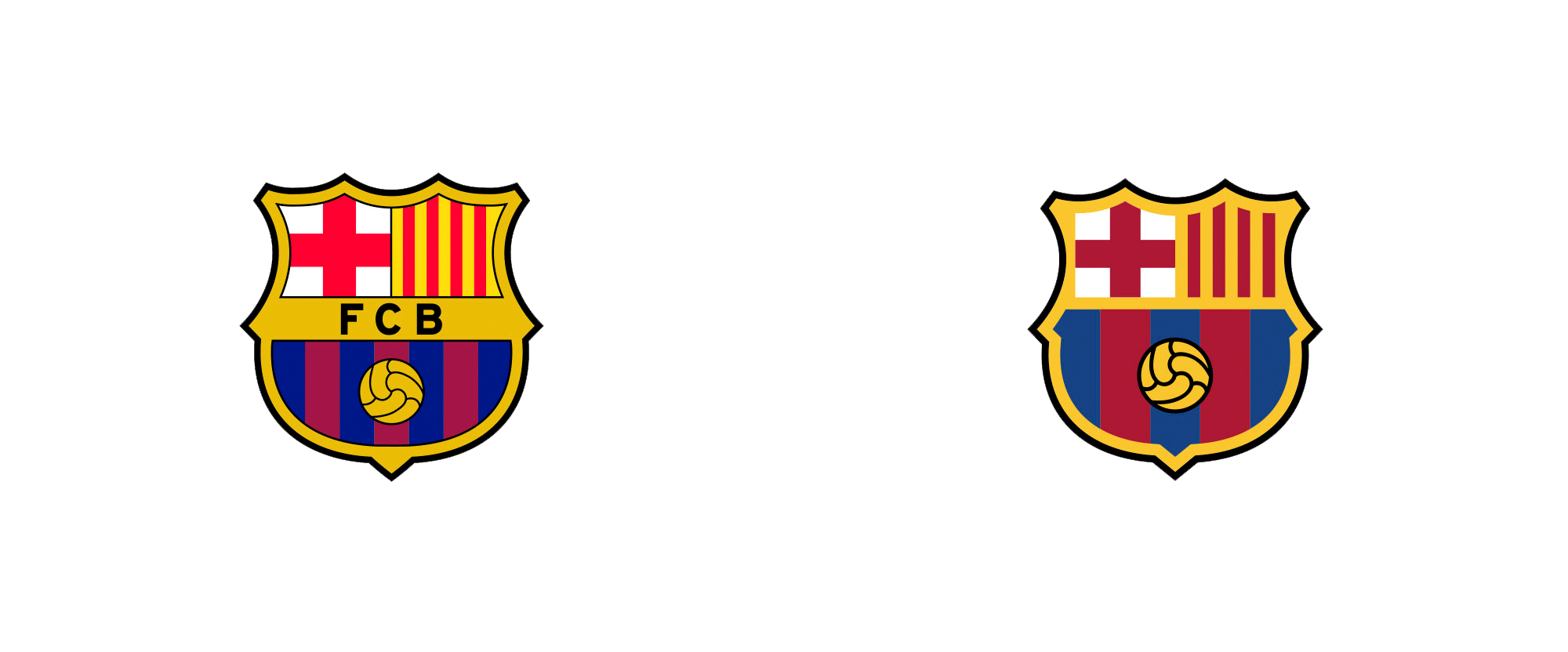 Brand New: New Crest and Identity for FC Barcelona by Summa.