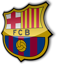 Fc Barcelona Logo 3d Png.