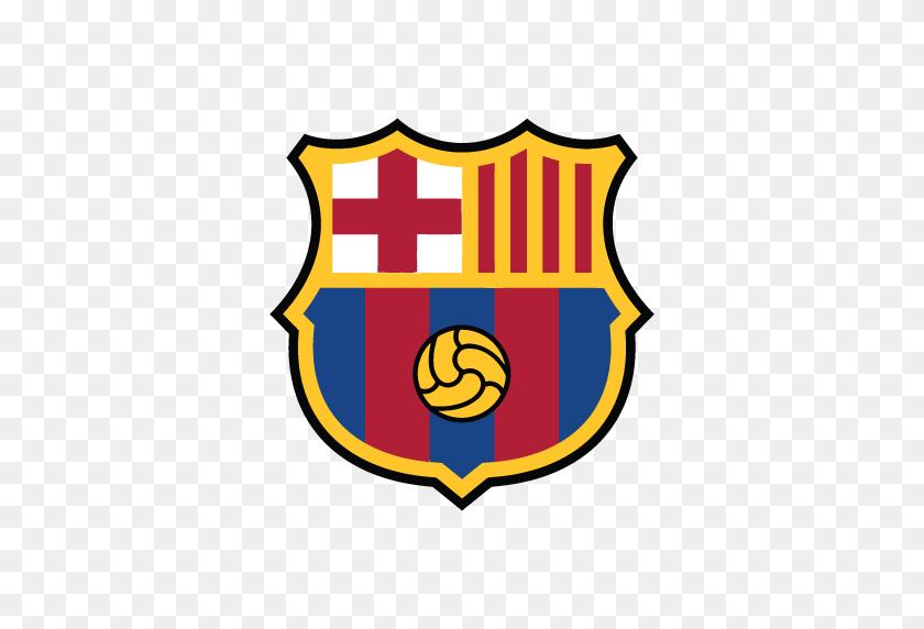 Fc Barcelona New Logo.
