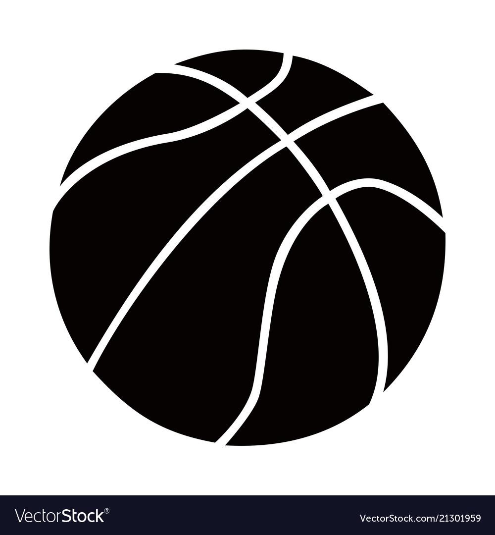 Basketball ball clean design logo mark brand.