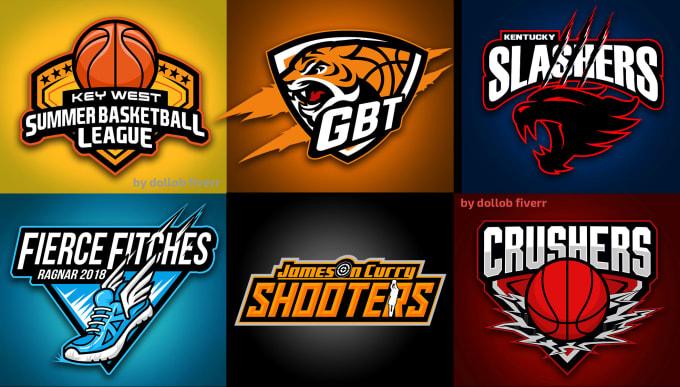 create logo for your basketball team.