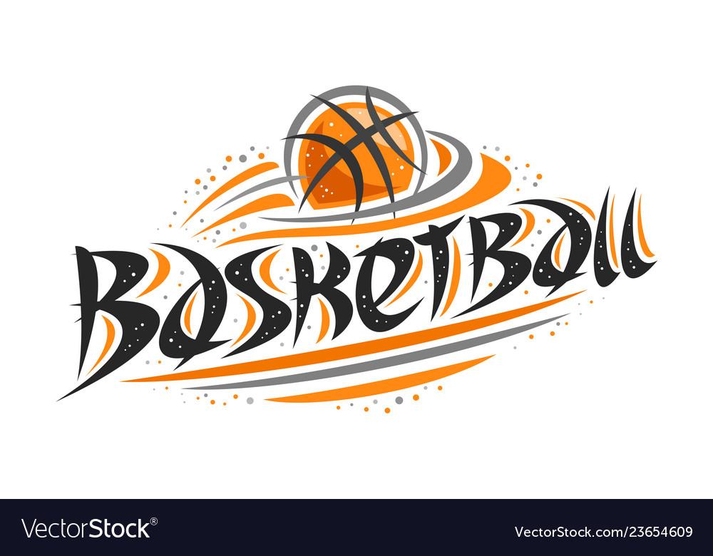 Logo for basketball.