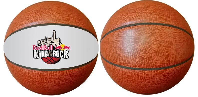 Custom Logo Basketballs In Leather.