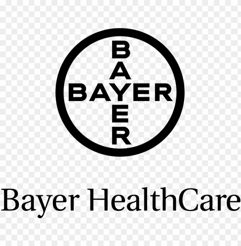 logo bayer health care.