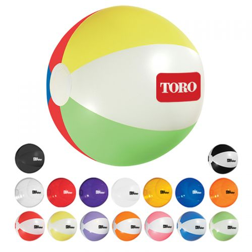 16 Inch Customized Beach Balls.