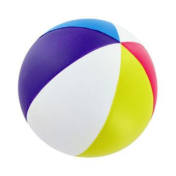 China Beach Ball Standard PVC Inflatable Beach Ball Color.