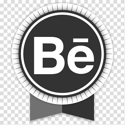 Brand logo circle, Behance transparent background PNG.