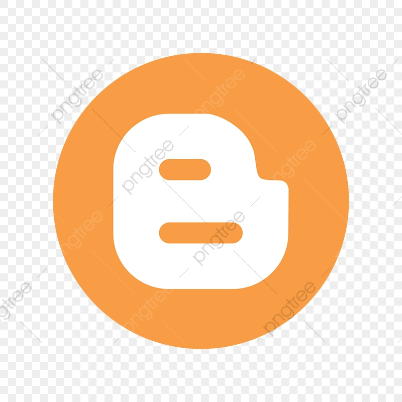 Blogger Color Icon, Blogger, Social, Media PNG and Vector.
