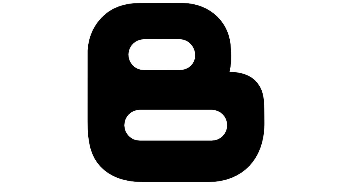 Blogger logotype.
