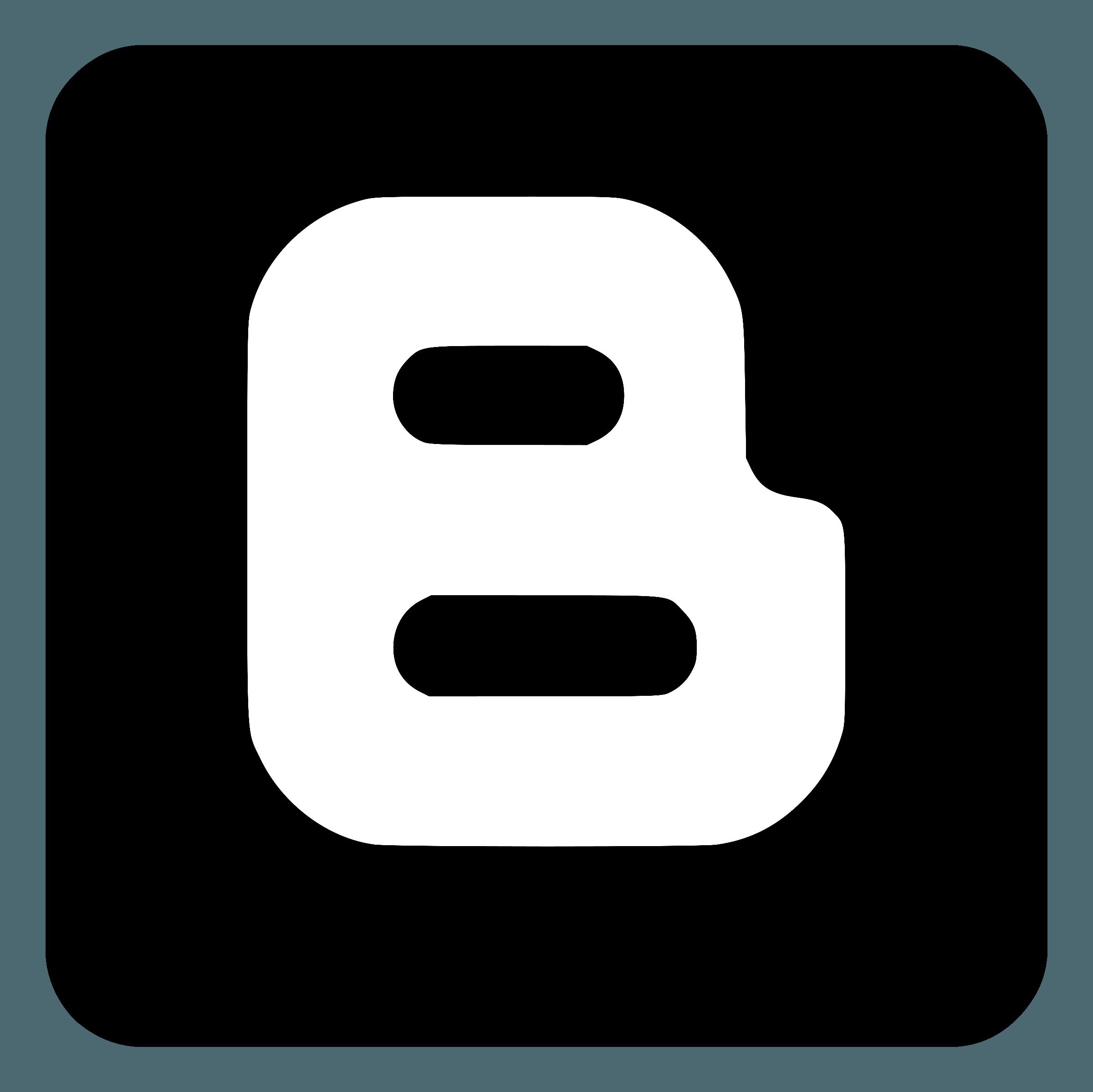 Blogger Logo PNG Transparent & SVG Vector.