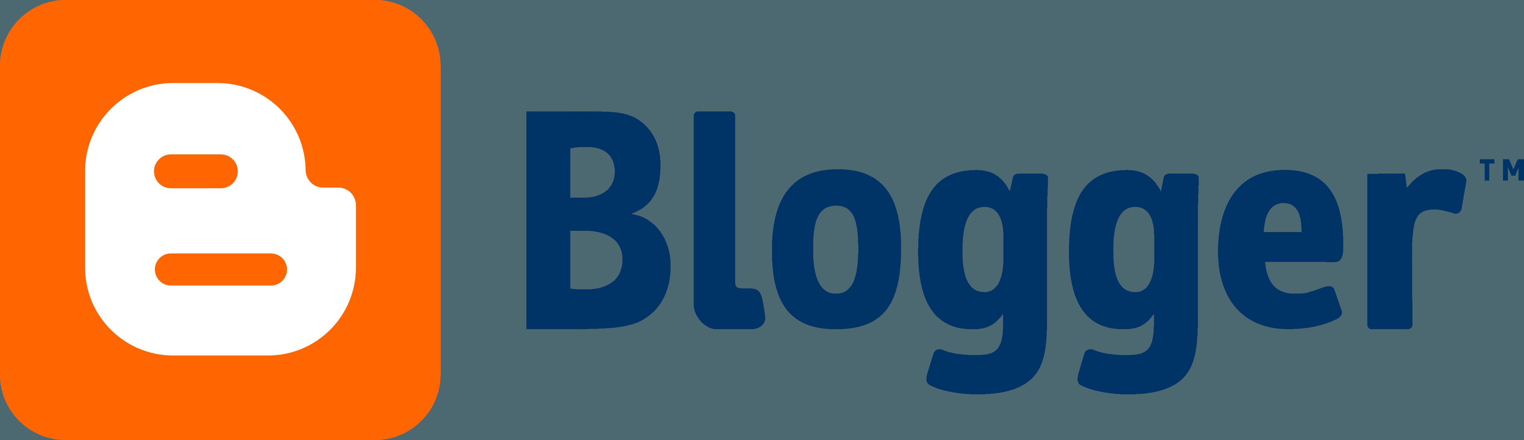 Blogger Logo.