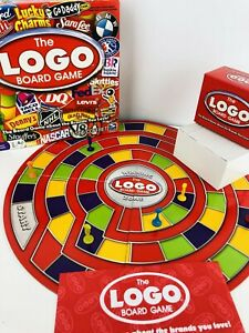 Details about The LOGO Board Game By Spin Master Brands You Love 2 to 6  Players.
