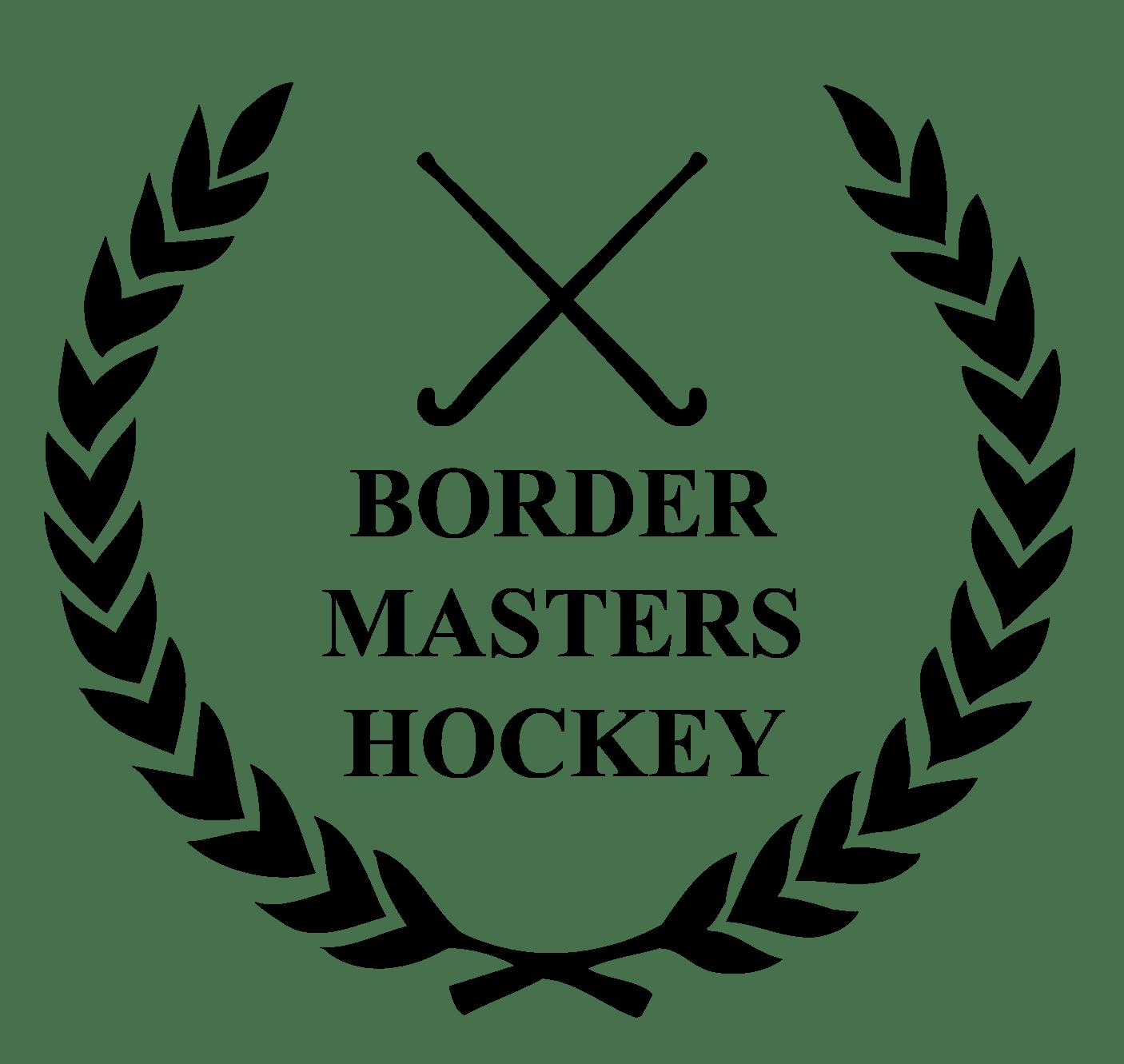 Border Masters Hockey Logo transparent PNG.