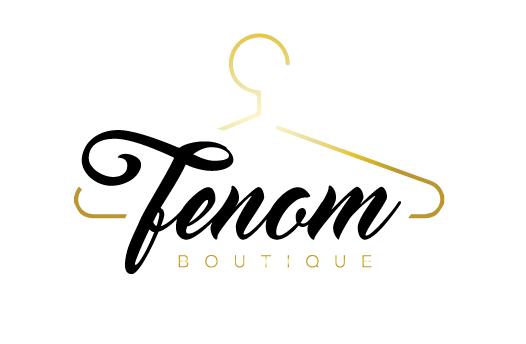logo design for Fenon Boutique by the logo boutique.
