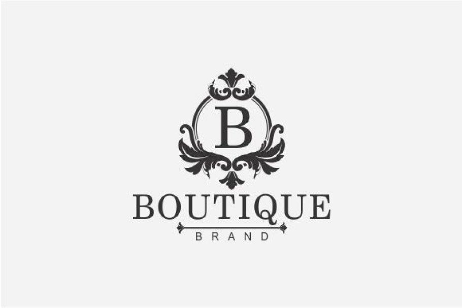 Boutique Logo ~ Logo Templates ~ Creative Market.