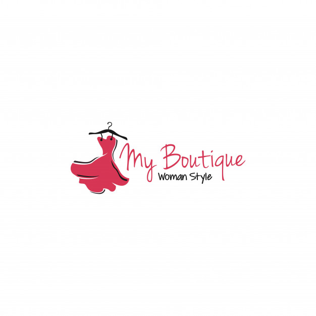 Luxury boutique logo templates Vector.