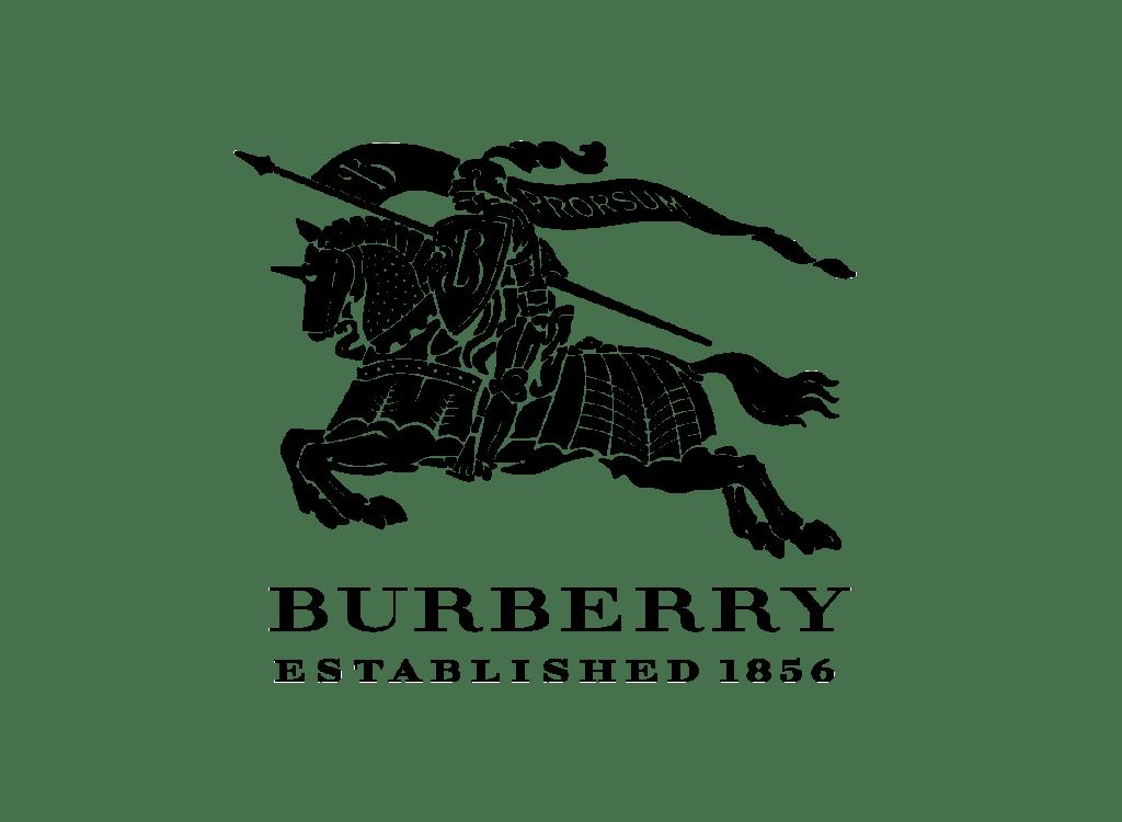 Burberry Logo transparent PNG.