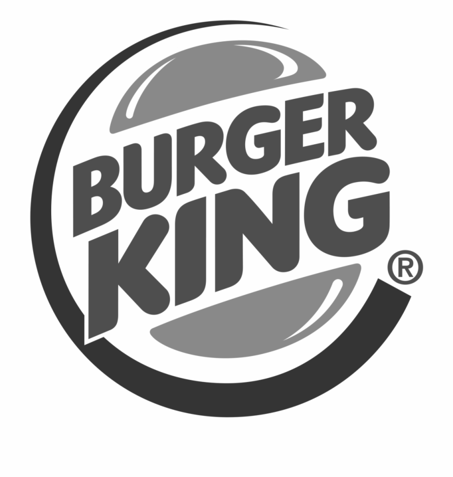 Burger King Logo Black And White.