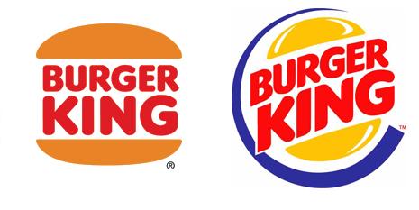 Burger King Logo Evolution..