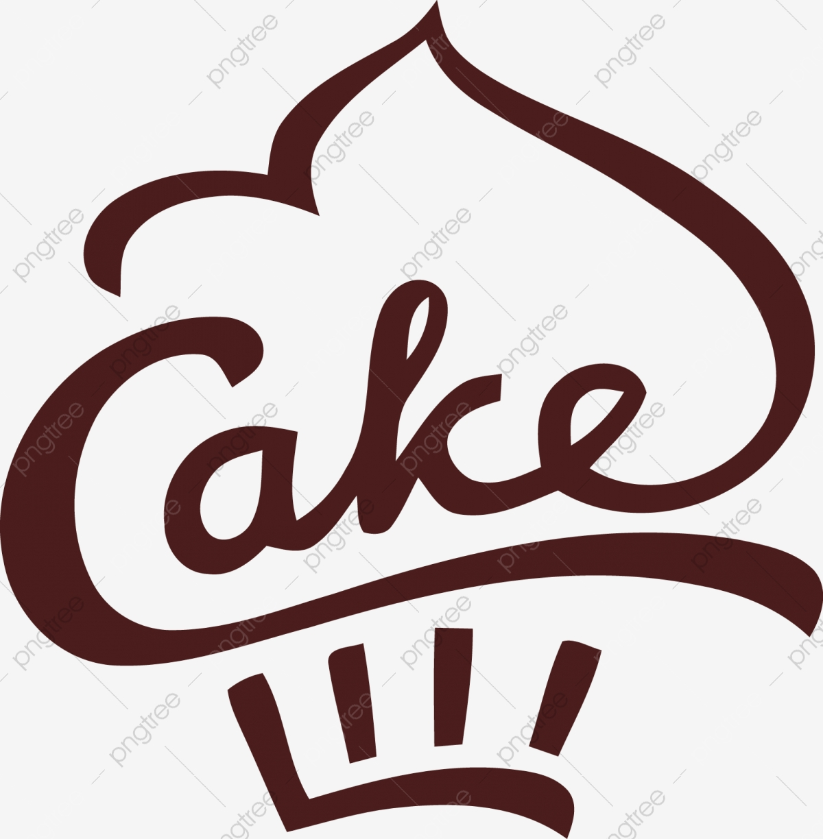 Simple Hand Painted Cake, Pastry, Cake, Bread PNG and Vector.