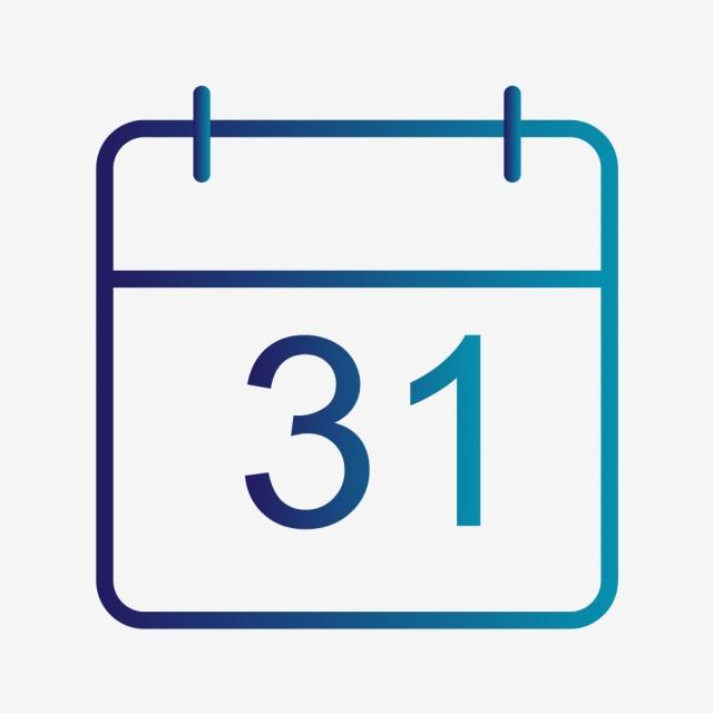 Vector Calendar Icon, Calendar Icon, Agenda Icon, Schedule.