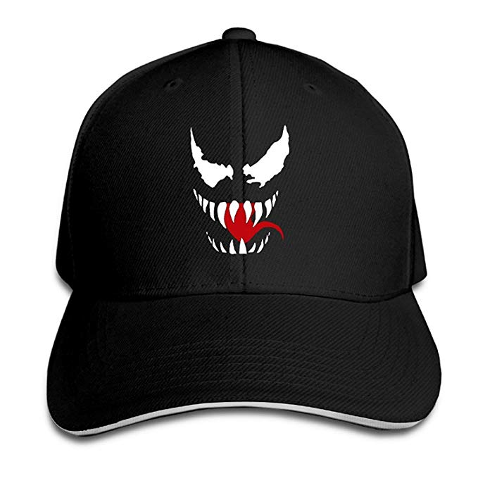 Amazon.com: Venom Face Logo Baseball Caps Style Sandwich Cap.