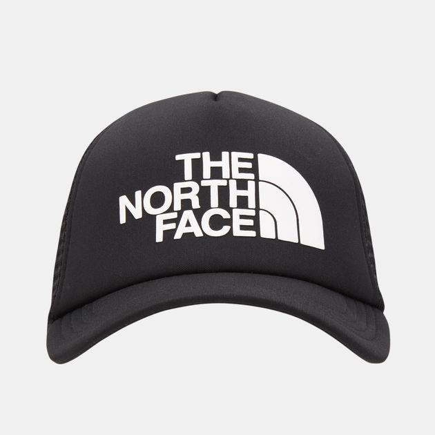 The North Face Logo Trucker Cap.