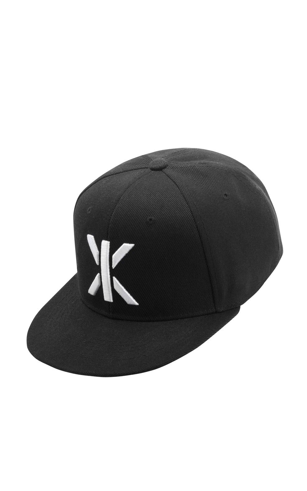 Logo Cap Snapback Black.