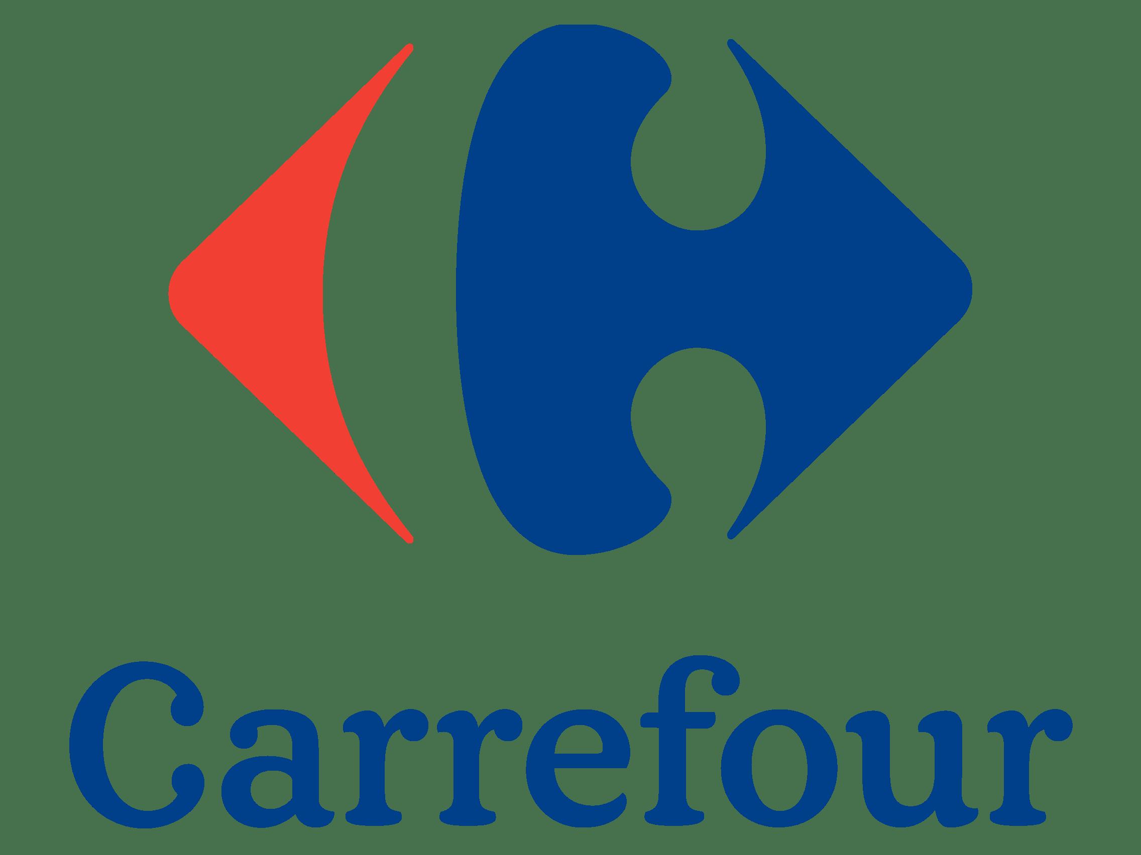 Carrefour Logo transparent PNG.