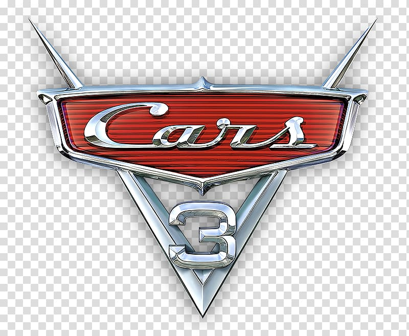 Cars 3: Driven to Win Lightning McQueen Mater Logo, Cars 3.