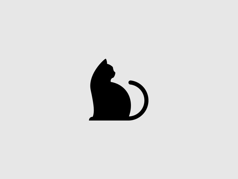 Cat logo by Guilder on Dribbble.