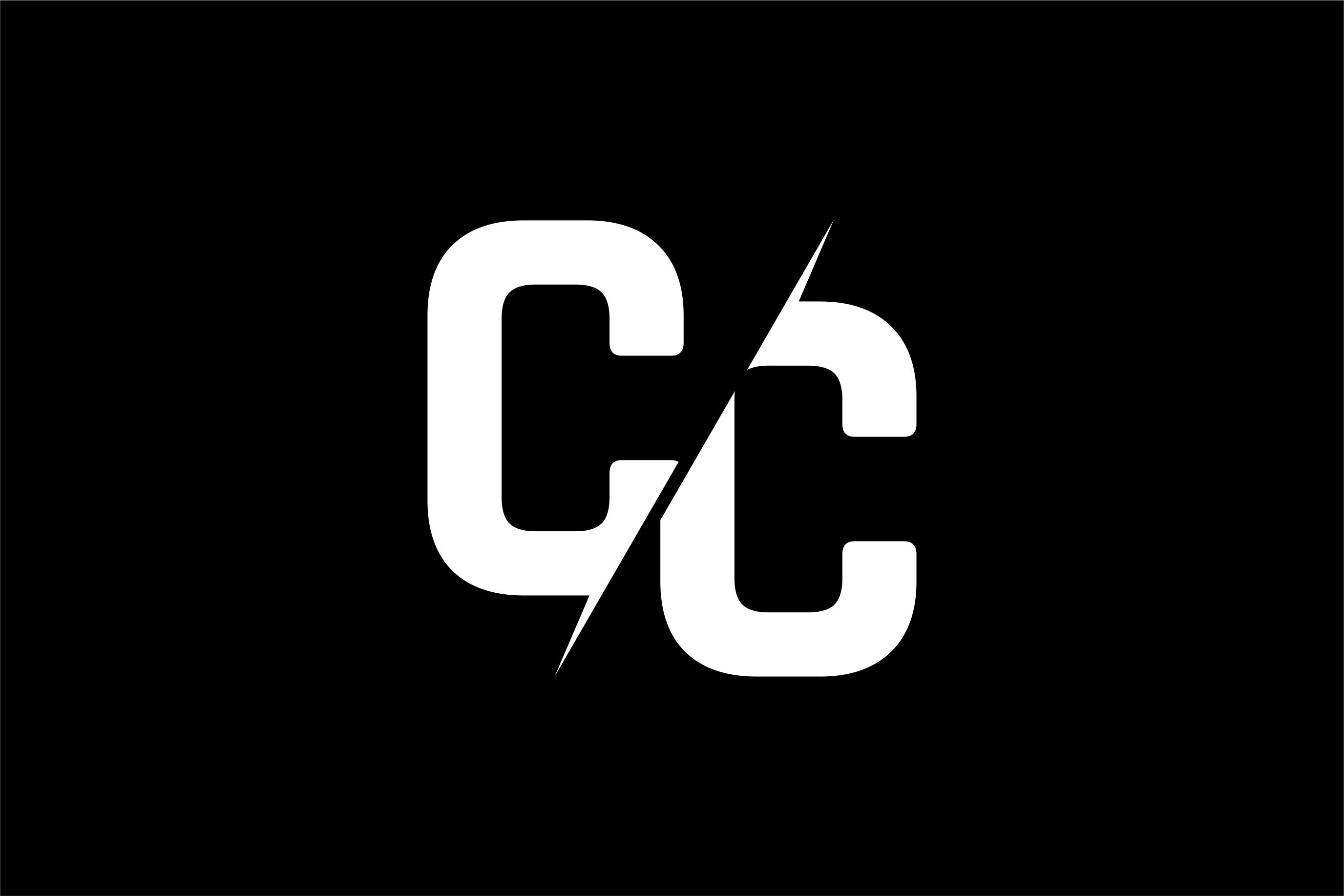 Monogram CC Logo.