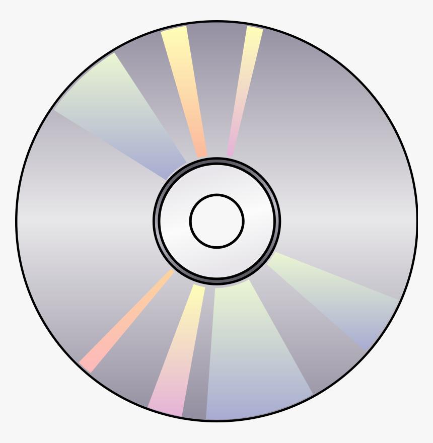 Compact Disk Metal Symbol Png Logo.