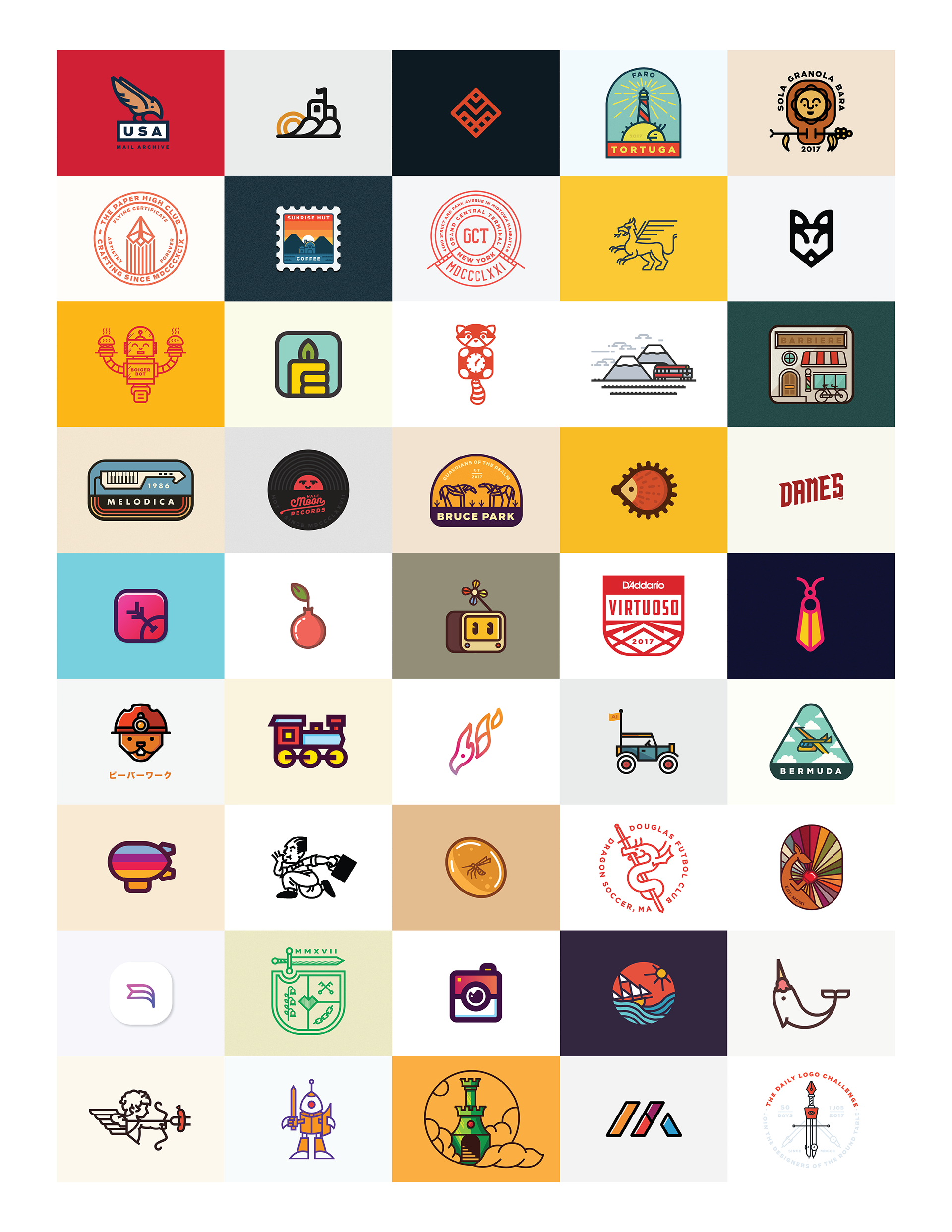 The Daily Logo Challenge on Behance.