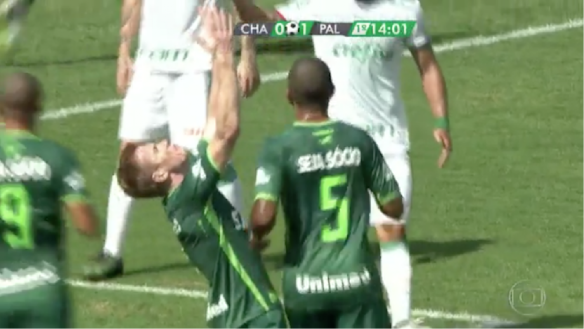 Chapecoense Score First Goal Since Losing 19 Players in.