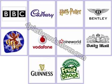 Logo Quiz UK Brands Answers.
