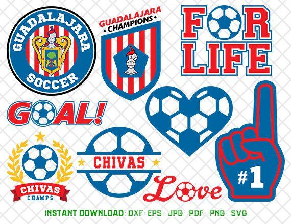 Download Free png Guadalajara Svg, Logo Clipart, Chivas.