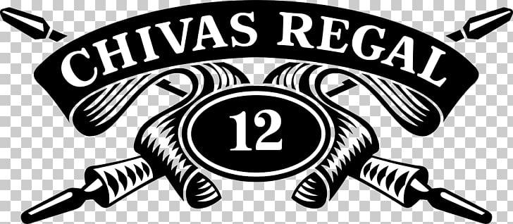 Chivas Regal Logo C.D. Guadalajara Whiskey graphics, Label.