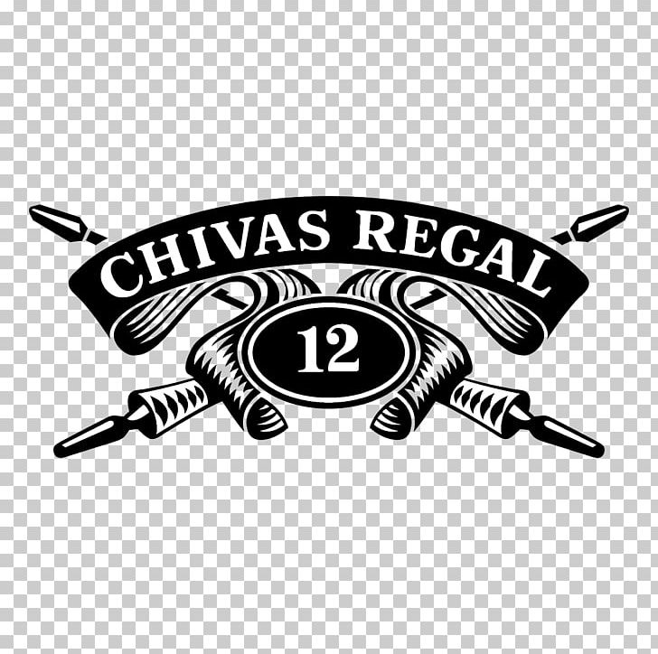 Chivas Regal 12 Year Old Blended Whisky Logo Whiskey.